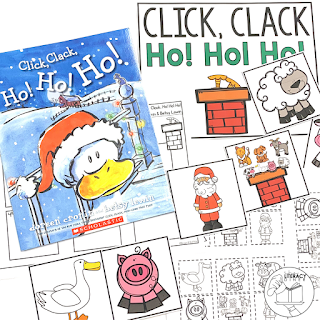 Create engaged learners with this December themed read aloud book companion.