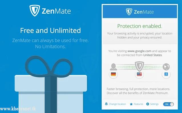 إضافة ZenMate VPN