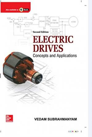 [PDF] Electric Drives Concepts and Applications Vedam Subrahmanyam
