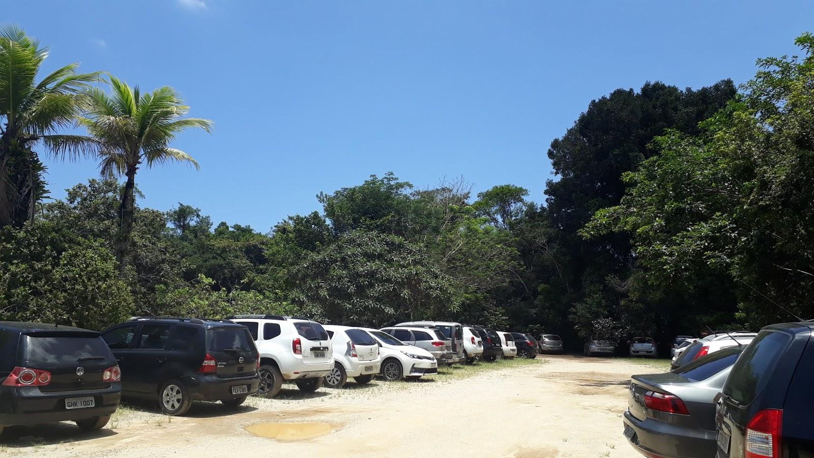 Estacionamento da Praia da Fazenda, Núcleo Picinguaba, Ubatuba