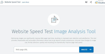 cloudinary website speed test