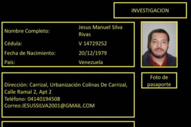 captura de su compinche Jesús Silva