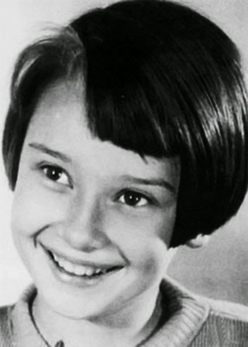 Rare And Adorable Photos Of A Young Audrey Hepburn Before