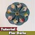 Como fazer flores de papel | Flor Dália | Tutorial | PAP