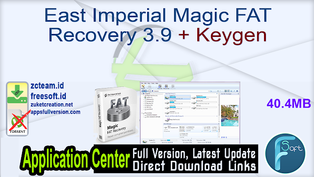 East Imperial Magic FAT Recovery 3.9 + Keygen_ ZcTeam.id.