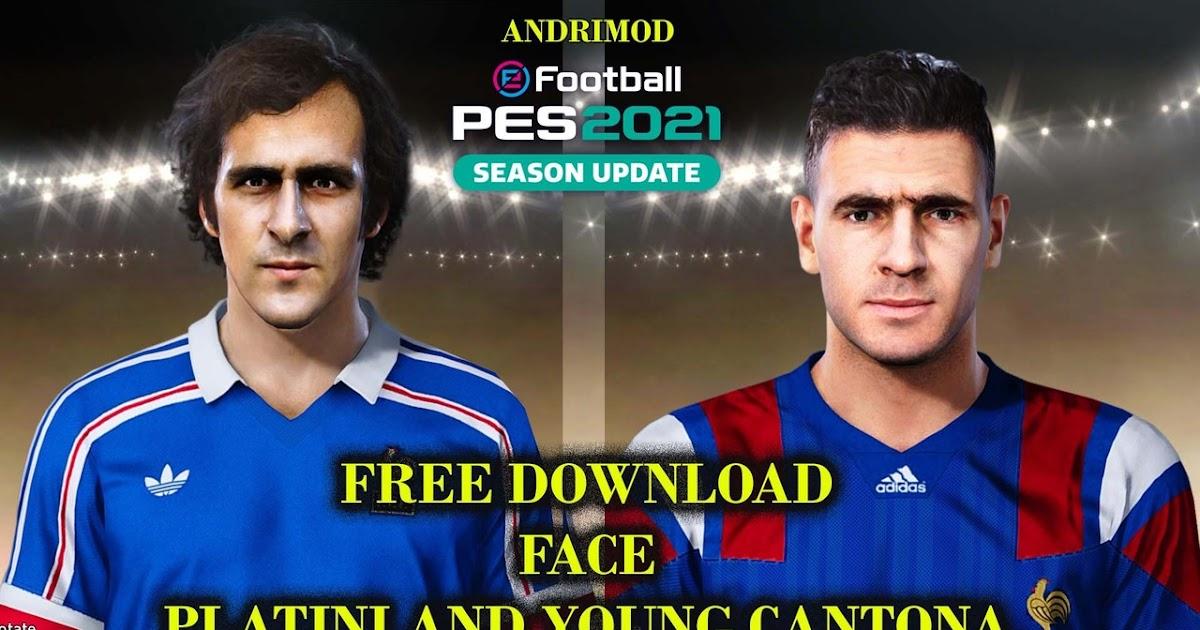 Eric cantona | biografi och fakta. PES 2021 Faces Michel Platini & Eric Cantona by Andri Mod ...