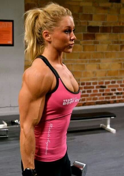 Strong Muscles Female Bodybuilding