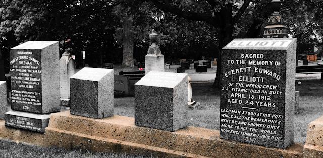 Titanic ofre ligger på kirkegården i halifax i canada