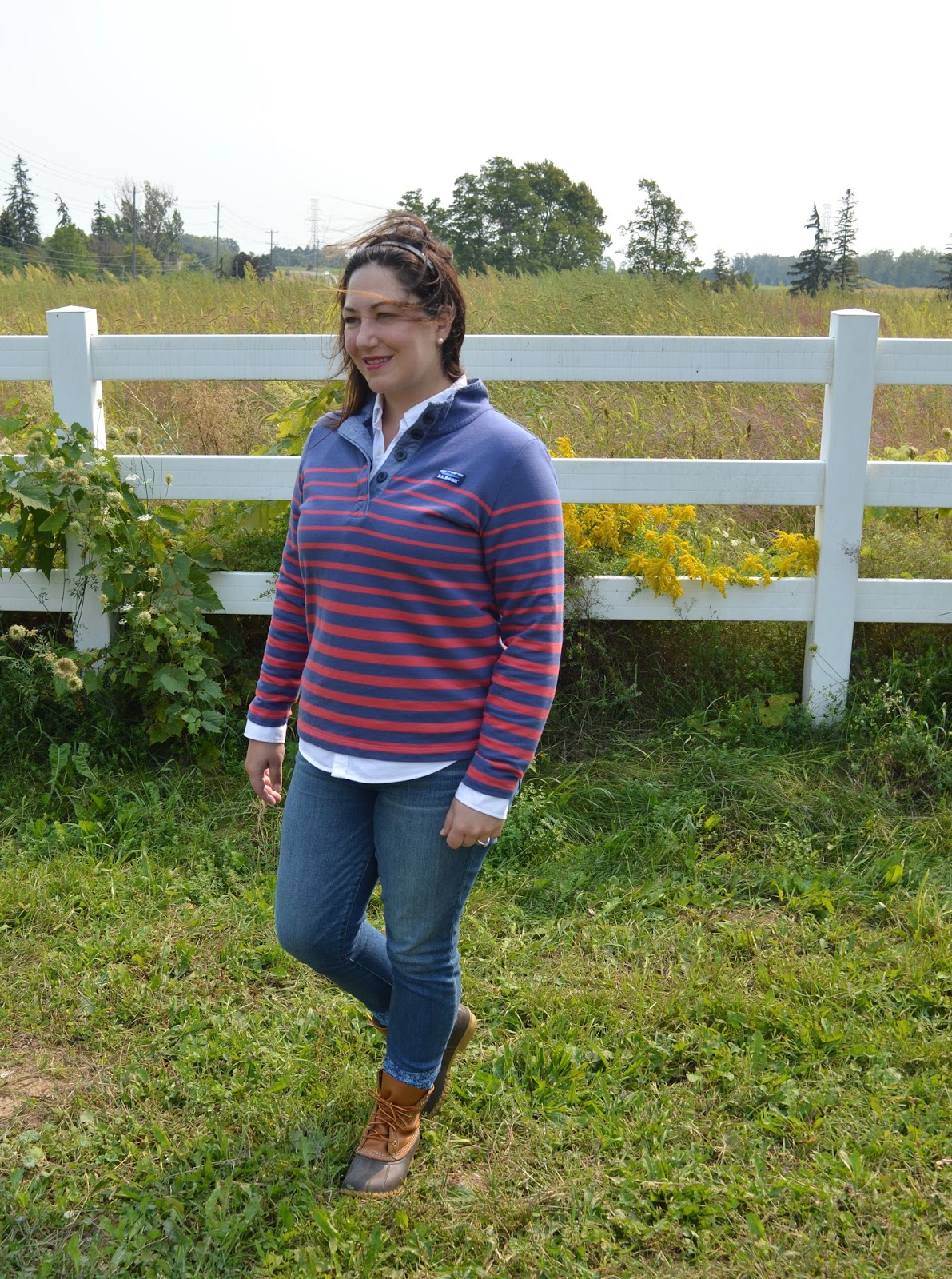 One Item, Two Ways: L.L.Bean Soft Cotton Rugby