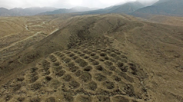 'Band of Holes' in Peru may be remains of Inca tax system