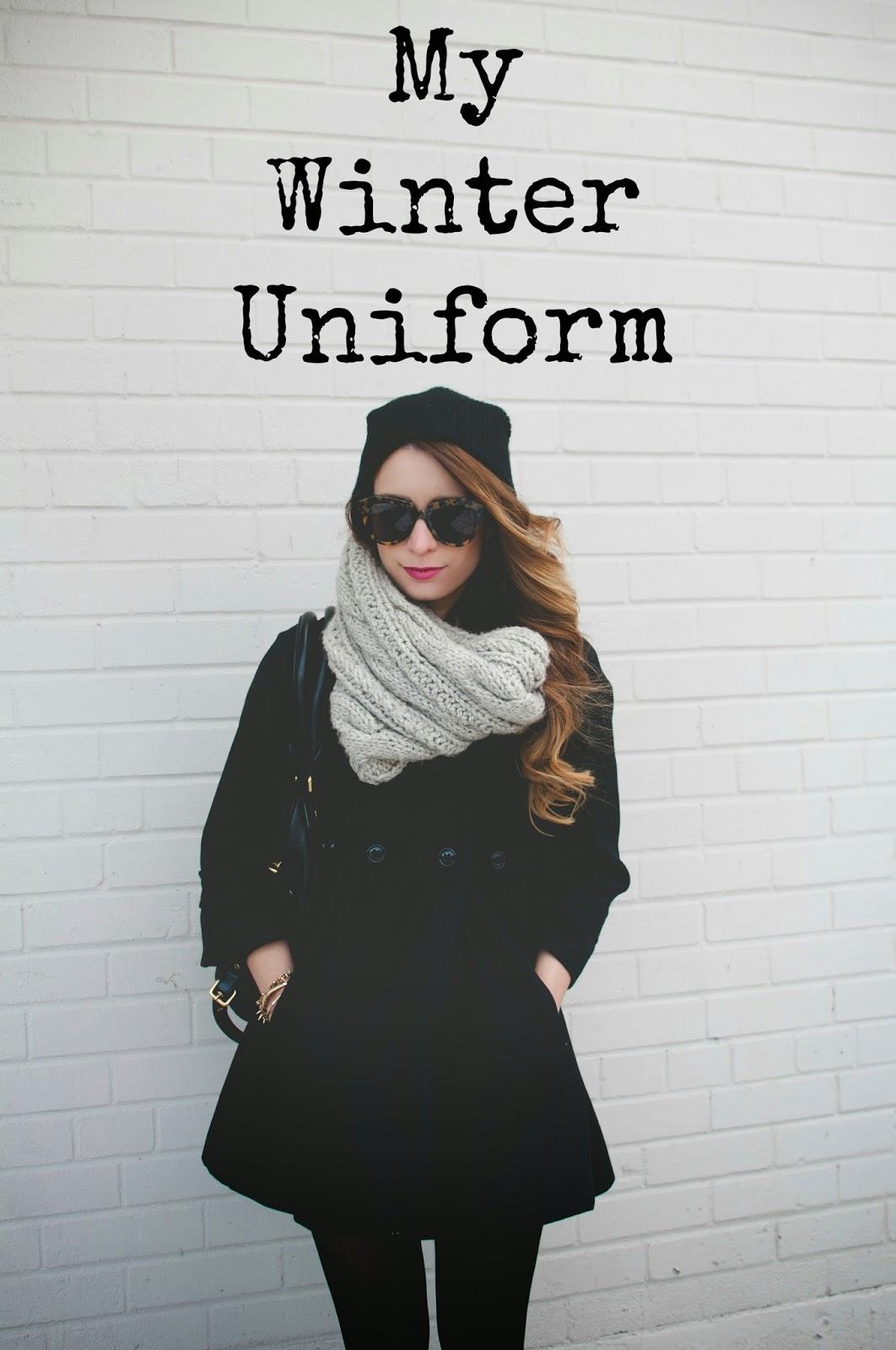 My Winter 2017 Capsule Wardrobe: My Winter Uniform - Winter OOTD