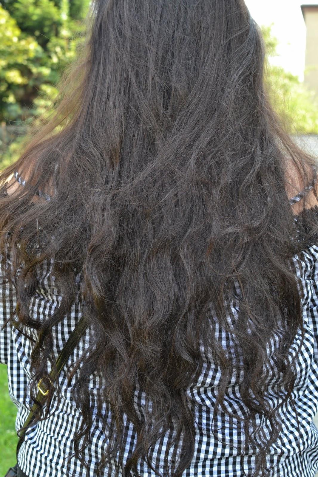 Metamorfoza włosów Julii