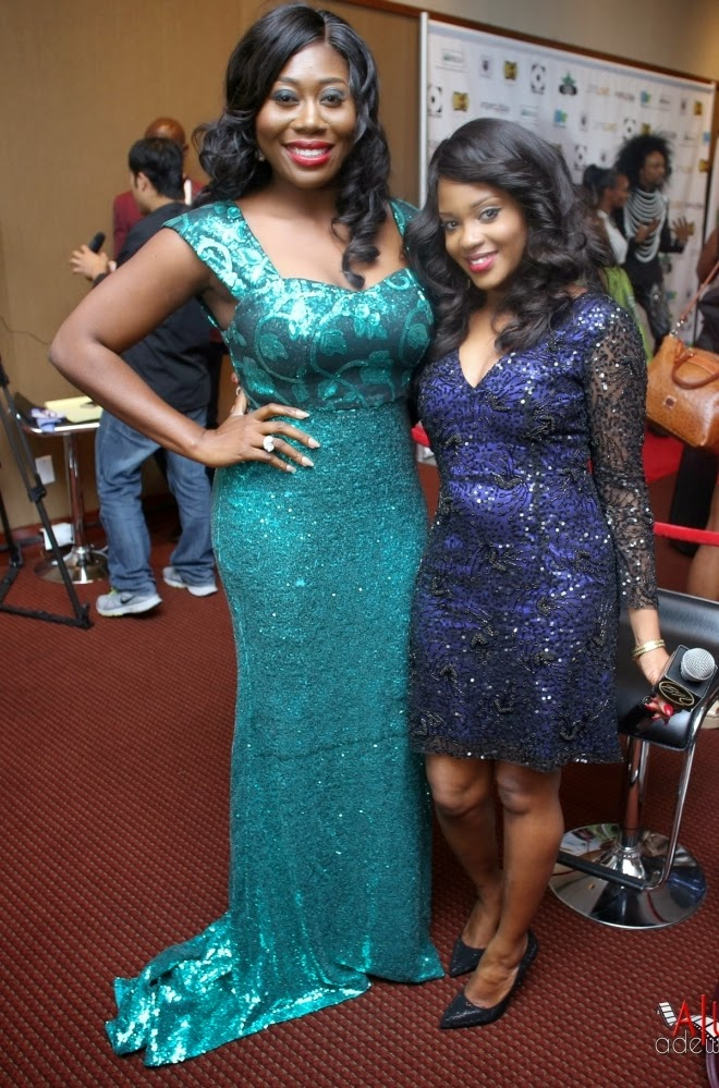 P67A9904 Red carpet photos from 2014 Nigeria Entertainment Awards