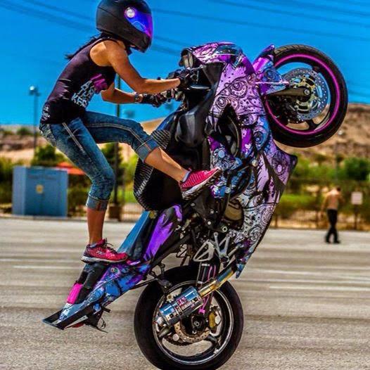 Cafe Racer Girl Wallpaper Mercenary Garage Ashley Lammela