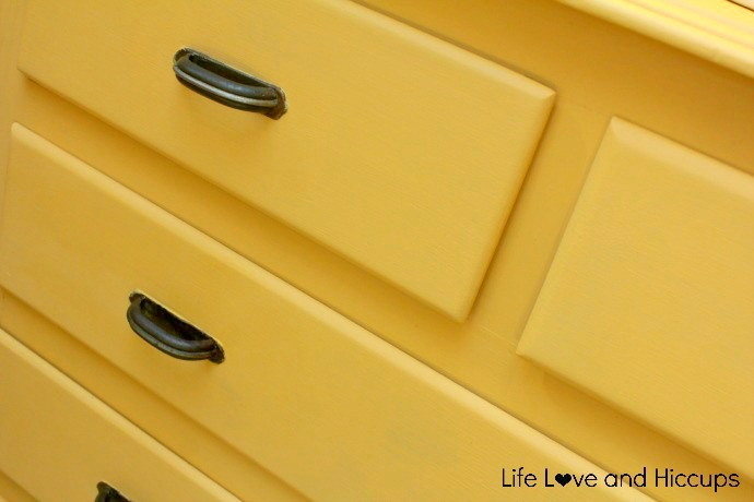 Yellow Annie Sloan Chalk Paint