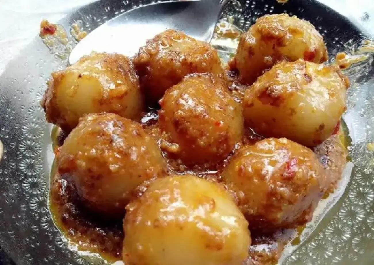 Resep Cilok Bumbu Saus Kacang Super Enak