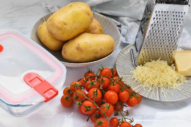 ingredientes patatas a la crema