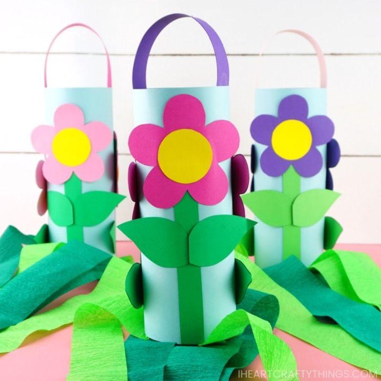 flower windsocks craft