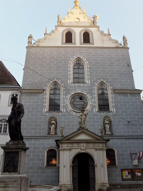 Vienne Wien Innere Stadt église franciscain Franziskanerkirche