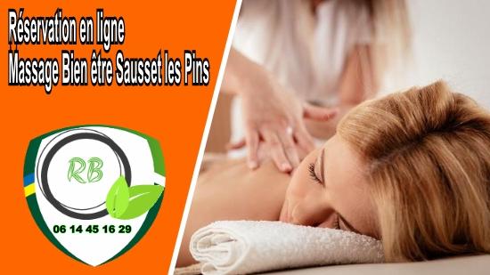 Réservation en ligne - Massage Bien être Sausset les Pins;