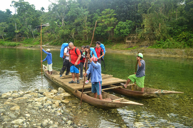 River Crossing via Raft in Mt. Daraitan