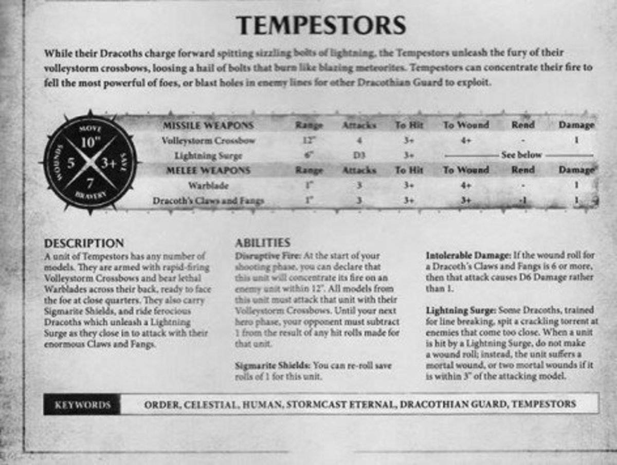 Age Of Sigmar, Reglas de Lord Celestant on Dracoth, Desolators, Concussors, Tempestors y Fulminator
