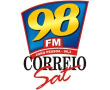 Rádio 98 Correio FM 98.3  de João Pessoa PB, ouvir agora!