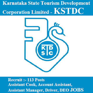 Karnataka State Tourism Development Corporation Limited, KSTDC, 10th, Karnataka, DEO, Manager, Accountant, Driver, freejobalert, Sarkari Naukri, Latest Jobs, kstdc logo