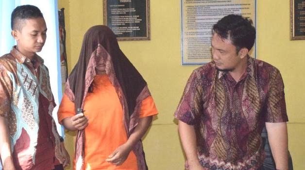 Perempuan Muda Jual Sabu ditangkap Polisi Aceh Singkil