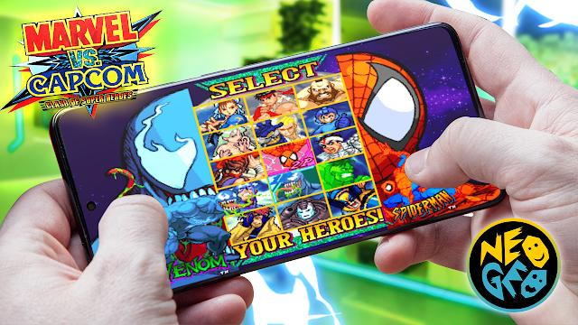 Marvel vs Capcom Para Teléfonos Android (ROM NEOGEO)