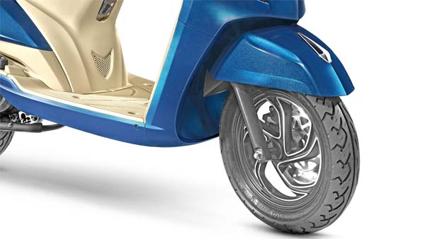 New TVS Jupiter Grande Front Wheel