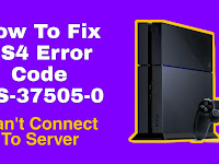 How to FIX PS4 Error Code WS-37505-0 (Can't Connect to Server)