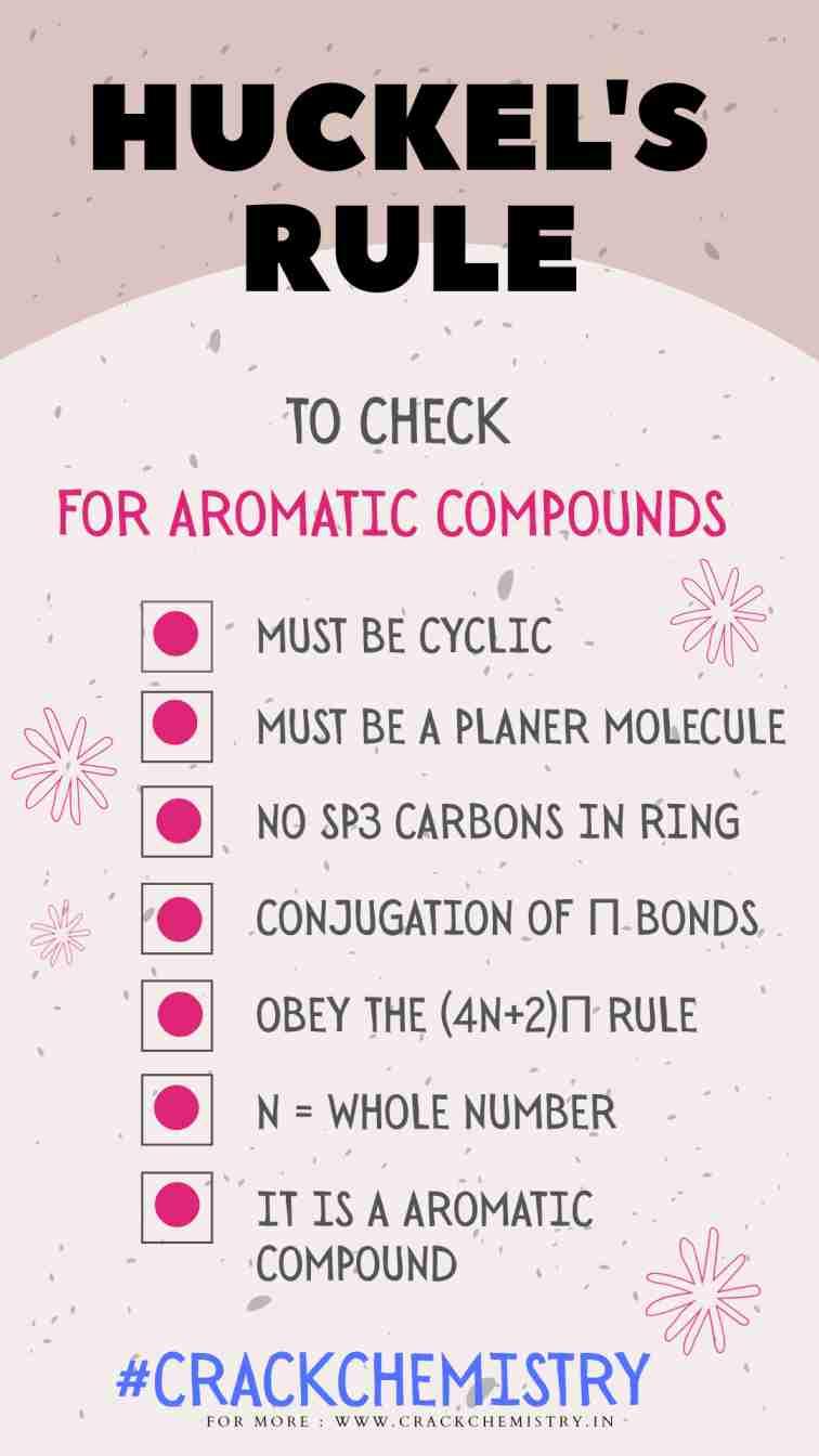 Huckel's-rule, aromaticity rule