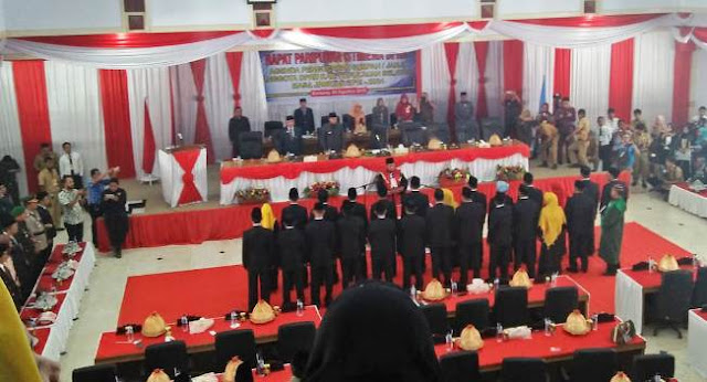 25 Anggota DPRD Selayar, Periode 2019 - 2024 Dilantik