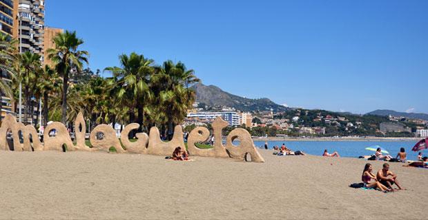 Playa de la Malagueta, Málaga