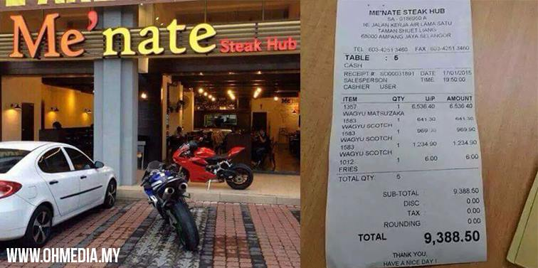 Pendedahan Kisah Pemilik Menate Steak Hub Yang Jual