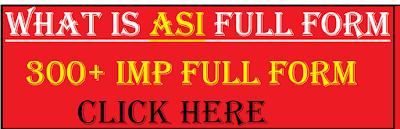 asi full form