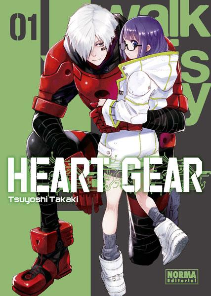 Review de Heart Gear Vol.1 de Tsuyoshi Takaki - Norma Editorial