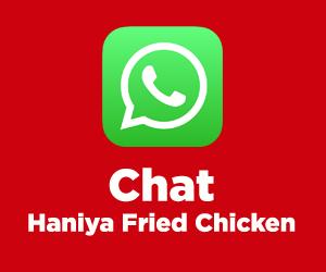 Gabung bersama Haniya Fried Chicken