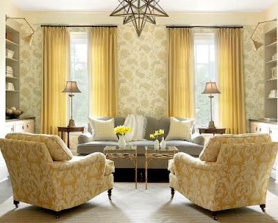 Layout untuk Desain Ruang Keluarga Modern Yang Menarik