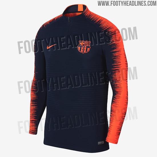 4b7ed3d7b6716 Nike vestirá al FC Barcelona con ropa de entrenamiento azul marino y ...