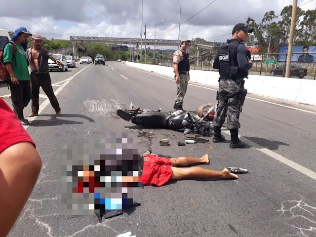 Grave acidente deixa um morto e outro ferido em Palmares