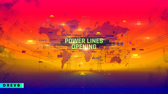 Power Lines Opening[Videohive][After Effects][29090364]
