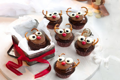 Rudolf cupcakes desserts recipes