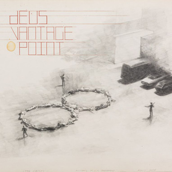 Michaël Borremans artwork new cd dEUS - Vantage Point