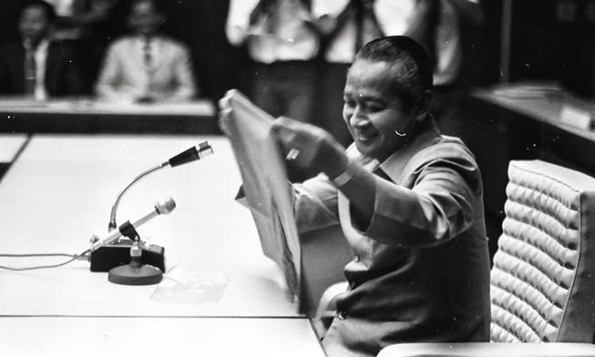 Jenderal dan mantan Presiden Soeharto