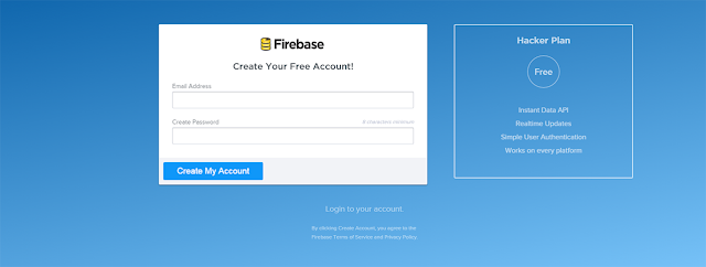 Sign Up Firebase