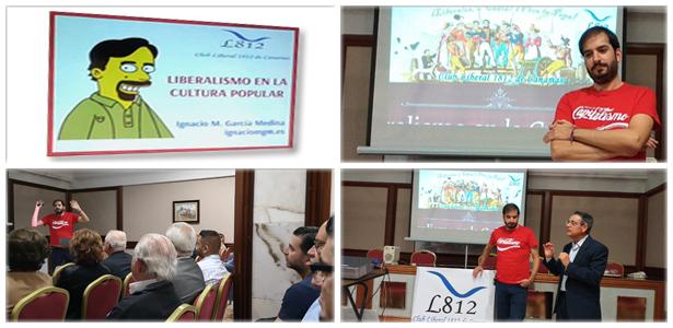 Ciclo de Conferencias del Club Liberal 1812 de Canarias