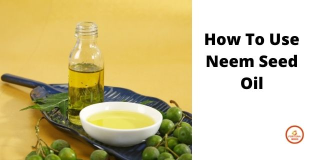 How to Use Neem Seed Oil
