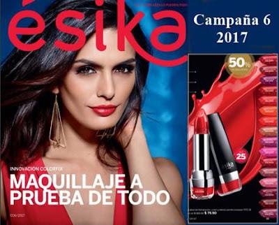 catalogo maquillaje esika campaña 6 2017